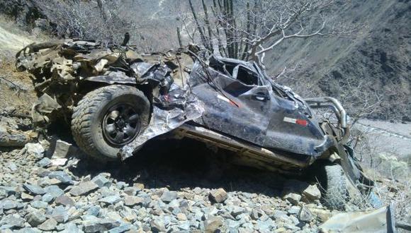 Niña falleció en accidente vehicular en la variante de Pasamayo