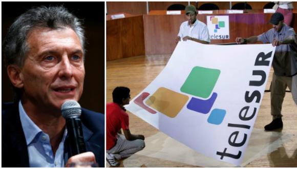 Telesur quiere conversar con el Gobierno de Macri