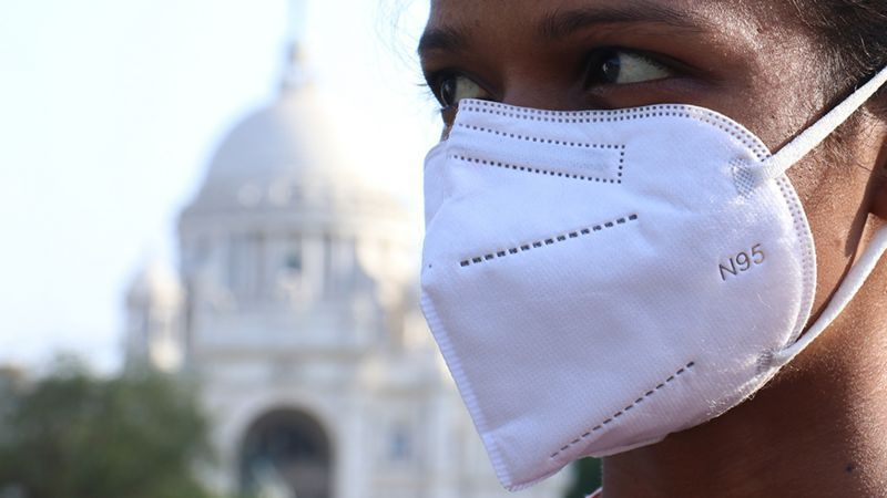 India broke the world record for new covid-19 infections in one day since the start of the pandemic. (Getty Images).