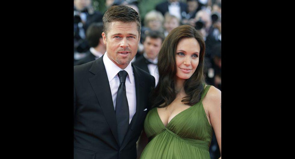 Angelina y Brad en 20 fotos que retratan sus momentos felices - 14