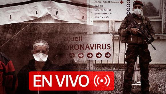 Coronavirus EN VIVO   Sigue aquí las últimas noticias y las cifras actualizadas de los casos confirmados y muertos por Covid-19 en el mundo, hoy sábado 25 de abril   Foto: Diseño GEC