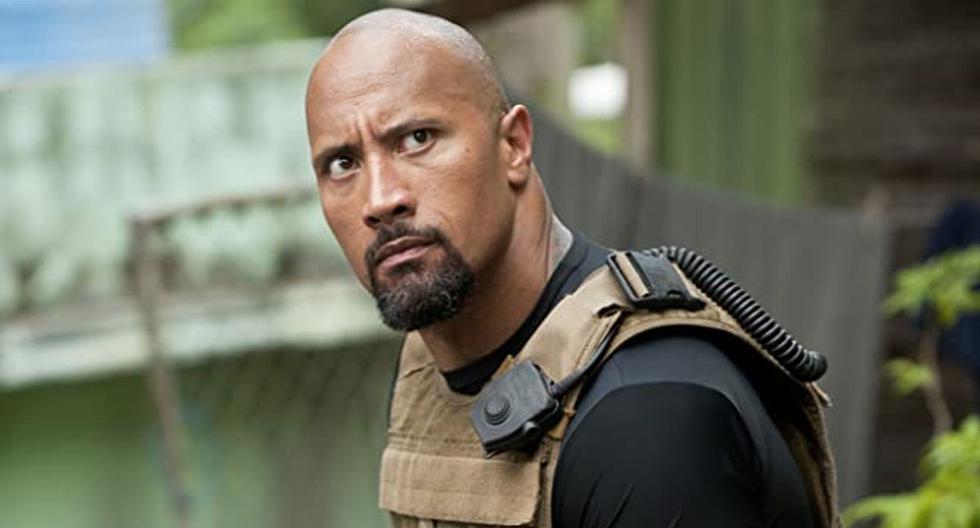 """Hoy nadie puede desligar a Dwayne Johnson de Luke Hobbs en las películas de """"Rápidos y furiosos"""" (Foto: Universal Pictures)"""