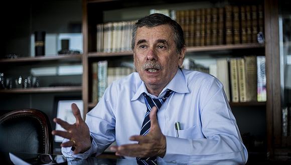Rospigliosi fue ministro del Interior en dos ocasiones durante el Gobierno de Alejandro Toledo. El primer periodo fue de julio del 2001 a julio del 2002, y posteriormente de julio del 2003 a mayo del 2004. (Foto: GEC)
