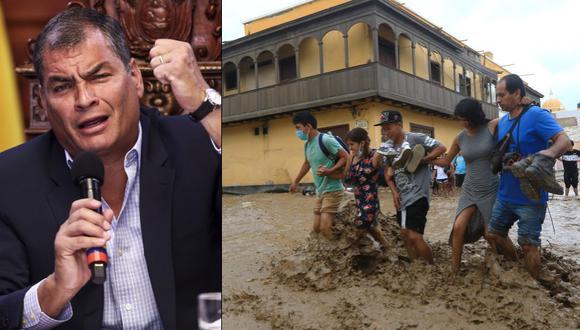 """Correa: """"Si Ecuador no sufre por lluvias es por planificación"""""""