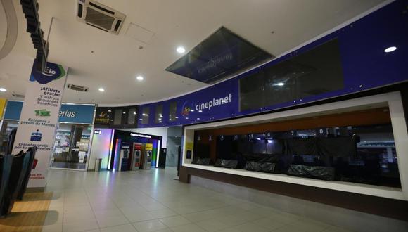 Las salas de cine volverán a abrir sus puertas con un aforo de un 40%. (Foto: Mario Zapata/GEC).