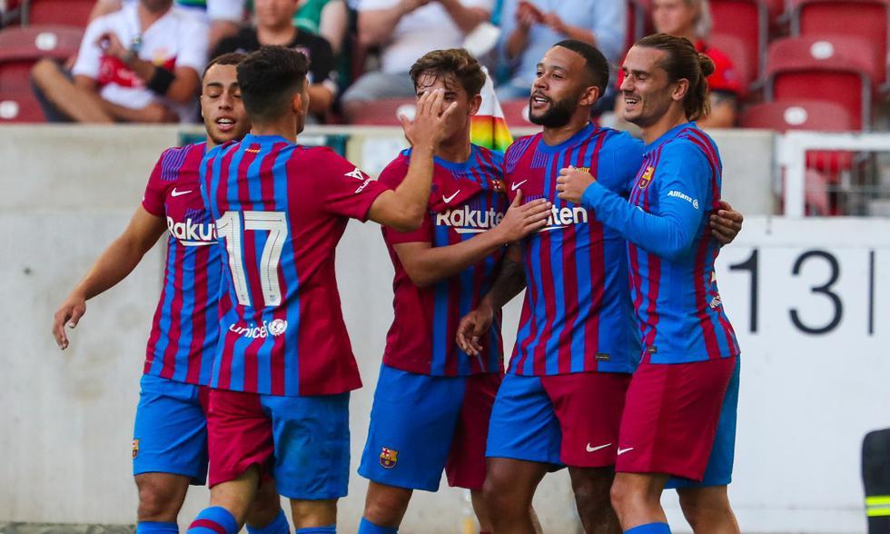 Barcelona y Stuttgart se enfrentaron en un duelo amistoso | Foto: @FCBarcelona_es
