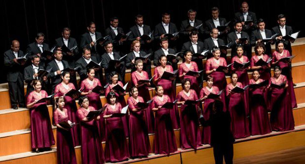 Las presentaciones del Coro Nacional del Perú se dan en el marco de las celebraciones por Fiestas Patrias. (Línea 1)