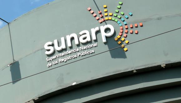 Registros Públicos (Sunarp). (Foto: GEC)