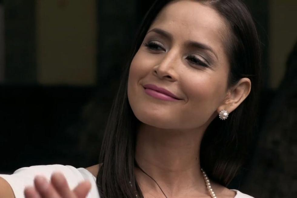 """Algunos años después de saltar a la fama como Catalina Santana en """"Sin senos no hay paraíso"""", Carmen Villalobos se unió a """"El señor de los cielos"""" (Foto: Telemundo)"""