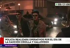 Halloween y Día de la Canción Criolla: PNP multará con 300 soles a quiénes infrinjan las normas