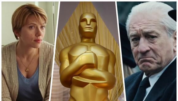 """The Irishman"" de Martin Scorsese y ""Marriage Story"" de Noah Baumbach eran las cintas estrella Netflix para ganar su primer Oscar a Mejor película.  (Foto: Netflix/ AFP)"