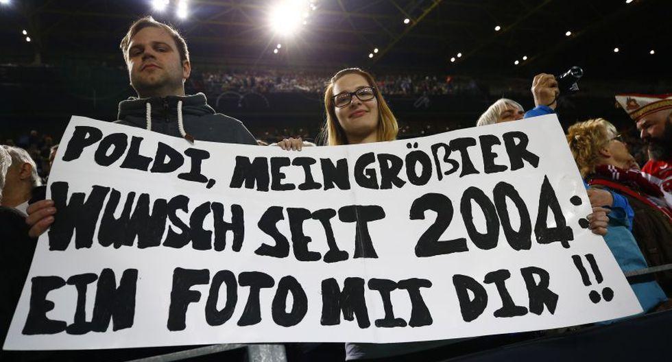 Podolski recibió despedida apoteósica en Signal Iduna Park - 7