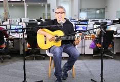 """Pedro Guerra en una sesión acústica desde """"El Comercio"""""""