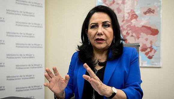 La ministra Gloria Montenegro asegura que durante la cuarentena hubo equipos itinerantes del sector que recogieron las denuncias por violencia de género. (FOTO: GEC)