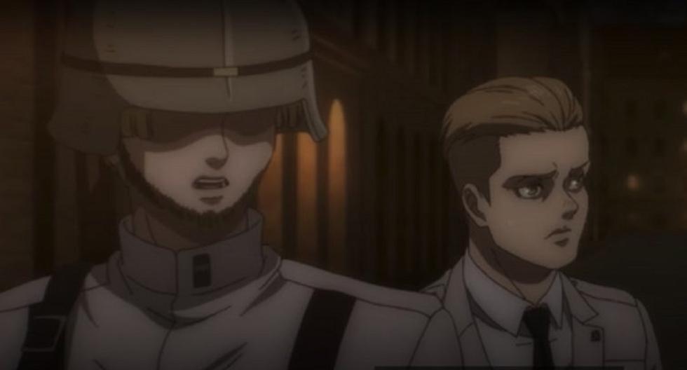 Shingeki No Kyojin 4 05 Who Is The Guard Who Locked Up Pieck And Porco Galliard Armin Attack On Titan Crunchyroll Series Anime Fame Archyde