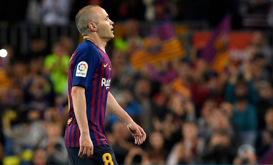 Barcelona superó a la Real Sociedad por 1-0 con golazo de Coutinho. Con este resultado, el volante Andrés Iniesta le dijo adiós al club blaugrana tras 22 temporadas. (Foto: AFP)