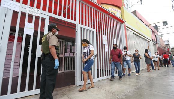 Miles de peruanos se hallaron bajo la suspensión perfecta de labores, a raíz de la pandemia. (Foto: Andina)