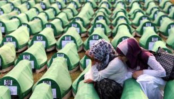 La masacre de Srebrenica se desarrolló entre el 10 y el 14 de julio de 1995. (EPA).