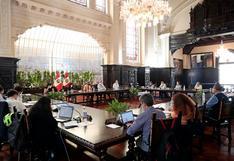 Gobierno brindó conferencia sobre las medidas aplicadas durante la pandemia del COVID-19