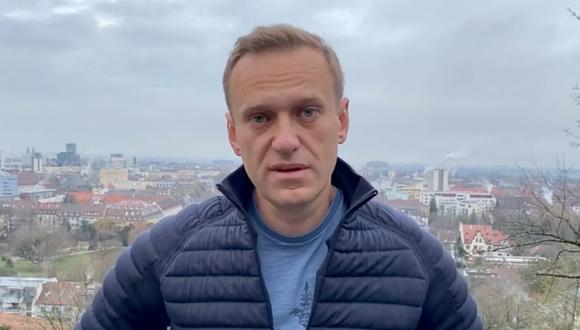 El político opositor ruso Alexei Navalny aparece en una imagen fija de un video en Alemania, el 13 de enero de 2021. (Cortesía de Instagram @NAVALNY / Social Media/REUTERS).