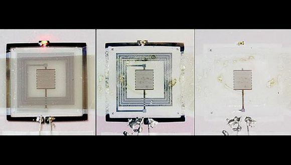 Científicos crean un dispositivo que se autodestruye