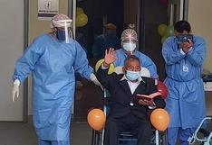 Huancavelica: paciente de 78 años venció el coronavirus luego de estar hospitalizado durante 25 días