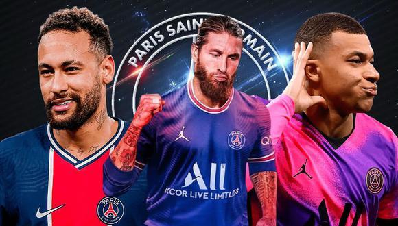 PSG busca ganar la Champions League esta temporada. En 2020 perdió en la final.