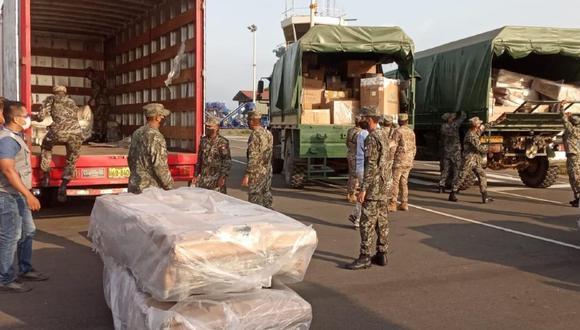 Tumbes: 20 camas UCI equipadas fueron enviadas por el Minsa al Hospital Regional de Tumbes. (Foto Minsa)