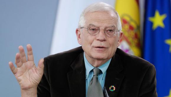 El ministro de Asuntos Exteriores, Josep Borrell. (Foto: EFE)