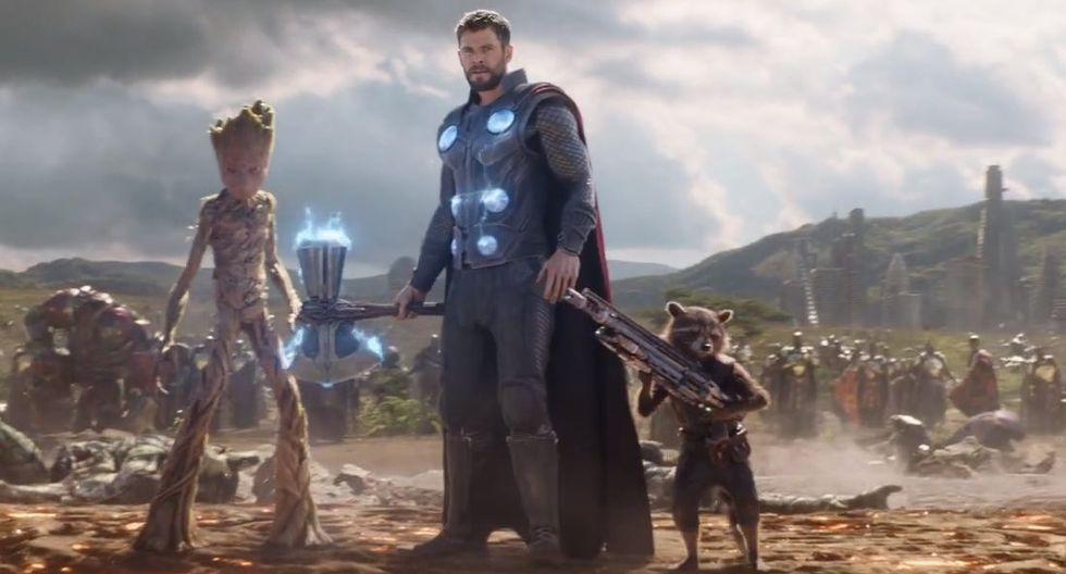 En cambio, sí aparecen Thor y Rocket. (Foto: Marvel)