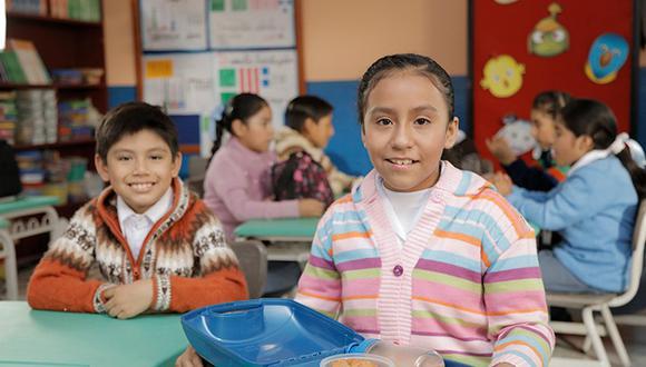 Minedu recomendó promover el uso de ropa abrigadora que cubra el rostro, el cuello, las manos y los pies de los escolares. (Foto: archivo / Difusión)