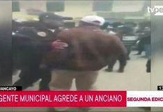 Huancayo: imágenes captan agresión de agente municipal a un anciano