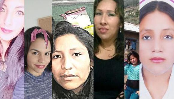 En solo tres semanas siete mujeres han sido asesinadas por sus parejas o exparejas, mientras que otras 14 quedaron gravemente heridas (Fotos: Facebook)