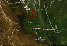 Sismo de magnitud 4,1 sorprendió a los ciudadanos de Aucayacu, Huánuco, señala IGP