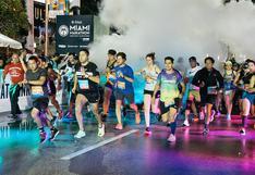 Maratón de Miami: una fiesta del running con espíritu latino