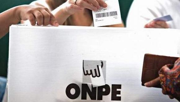 Los ciudadanos que no emitan su voto o no cumplan con su rol de miembros de mesa serán sancionados con una multa (Foto: ONPE / Referencial)