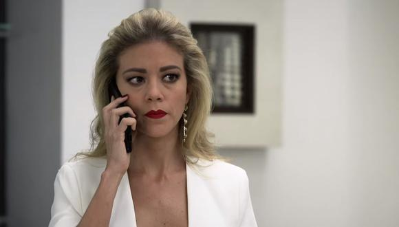 Fernanda Castillo reveló en mayo de 2020 cómo nació el personaje de Mónica Robles (Foto: El señor de los cielos / Telemundo)