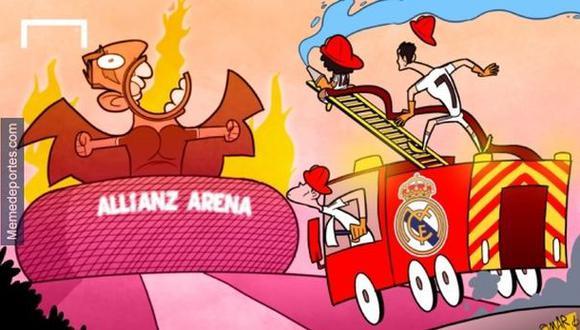 La divertida imagen que explica el Bayern-Madrid de hoy