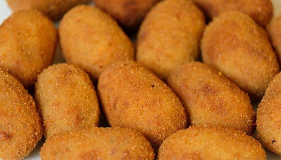 La masa de las croquetas es una salsa bechamel espesa. (Foto: Pixabay)