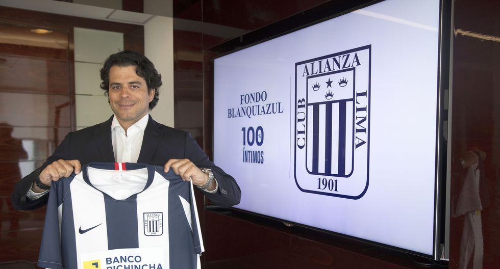 Diego Gonzáles-Posada, presidente del Fondo Blanquiazul. (Foto: José Rojas / GEC)