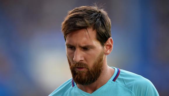 No se puede entender cómo Lionel Messi erró un disparo desde los doce pasos ante un inofensivo Alavés. La estrella del Barcelona lució apagada en el primer tiempo. (Foto: AFP)
