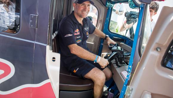 Dakar 2019: así vivió Stephane Peterhansel la experiencia de manejar un mototaxi   VIDEO (Foto: Red Bull Content Pool)