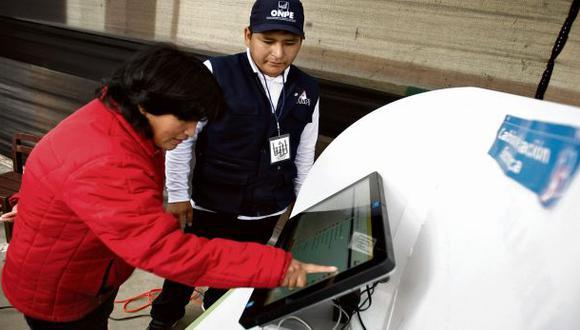 ONPE probó voto electrónico solo 3 semanas antes de elecciones
