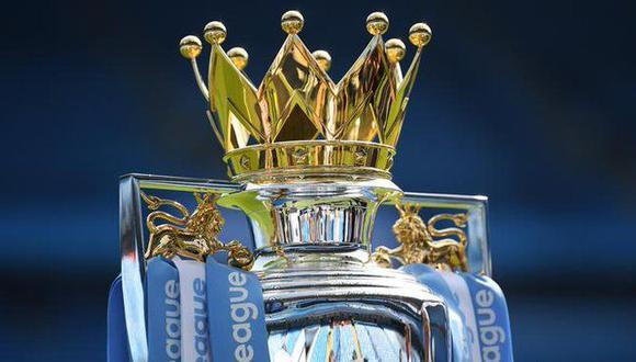 El trofeo de la Premier League. (Foto: AP)