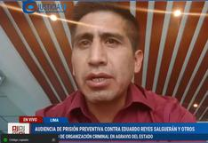 Dinámicos del Centro: PJ reprograma para este martes audiencia de prisión preventiva para investigados