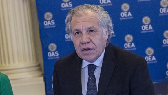 Luis Almagro, secretario general de la OEA. (Foto: AFP)