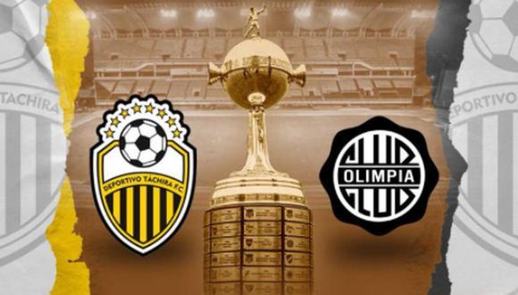 Deportivo Táchira recibe a Olimpia en la primera fecha de la fase de grupos de la Copa Libertadores | Foto: @DvoTachira