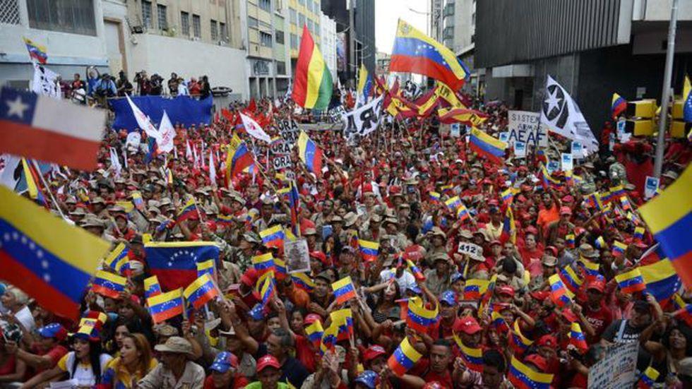 Las protestas son habituales en Venezuela conforme arrecia la crisis económica.