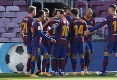 Barcelona goleó 4-0 a Osasuna y comienza a escalar en LaLiga Santander