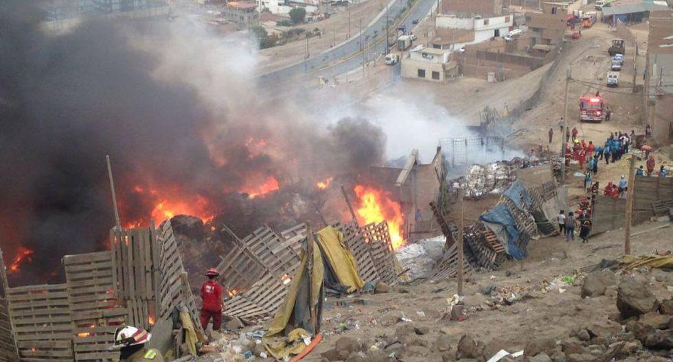 Ventanilla: las imágenes que muestran la magnitud del incendio - 3